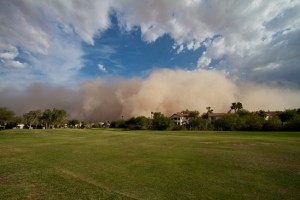 haboob dust storm affect my air conditioning