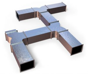 air conditioning duct installation