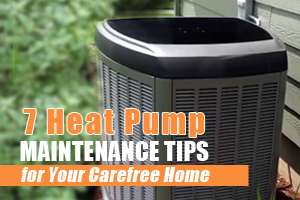 heat pump maintenance tips