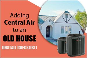 Adding Central Air To An Old House in Arizona