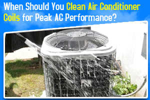 When Should You Clean Air Conditioner Coils For Peak Ac