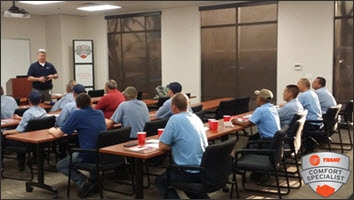 Scottsdale Air Heating and Cooling Trane Team Training