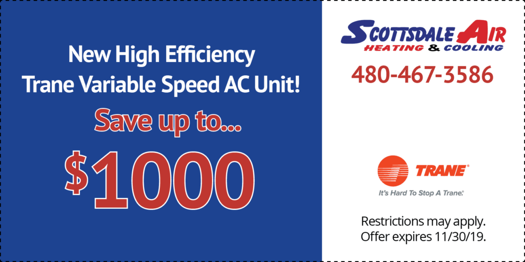 Trane Variable Speed AC unit--save up to $1,000