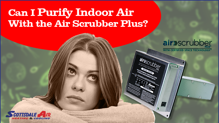 Can I Purify Indoor Air With the Air Scrubber Plus?
