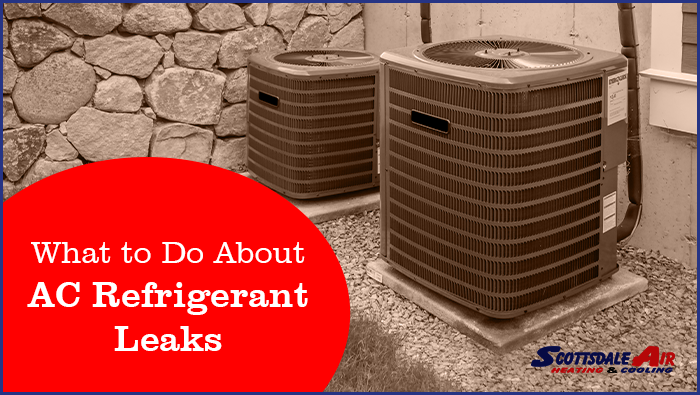 What to Do About AC Refrigerant Leaks